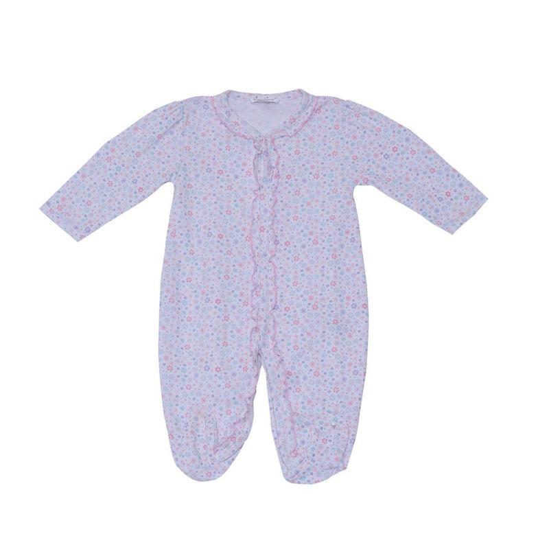Kissy Kissy Footie- Eloquent Elephants For Girls, Multicolor