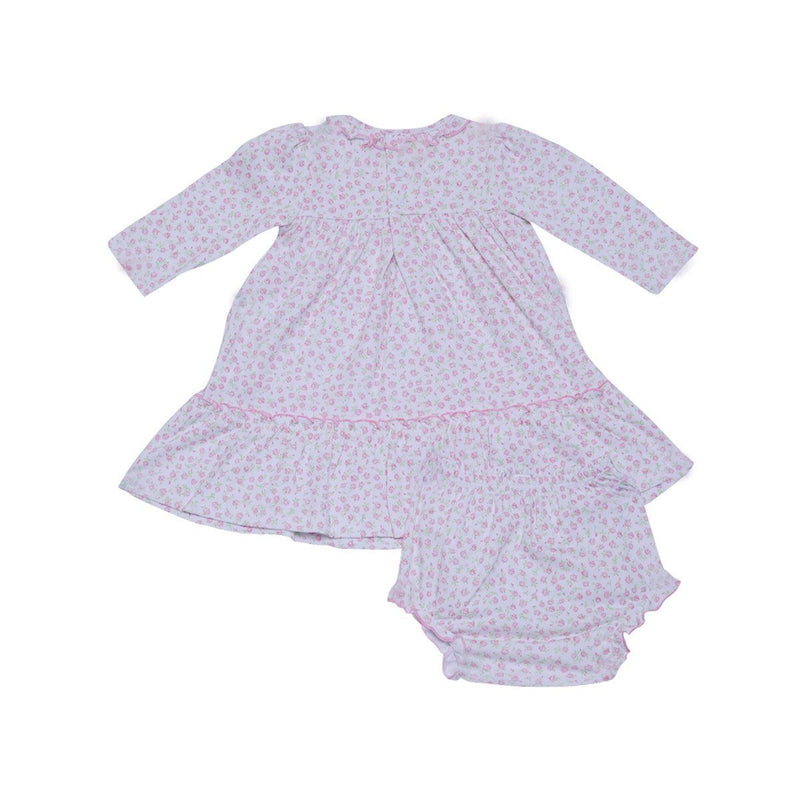 Kissy Kissy - Rambling Roses Dress Set For Girls, Pink