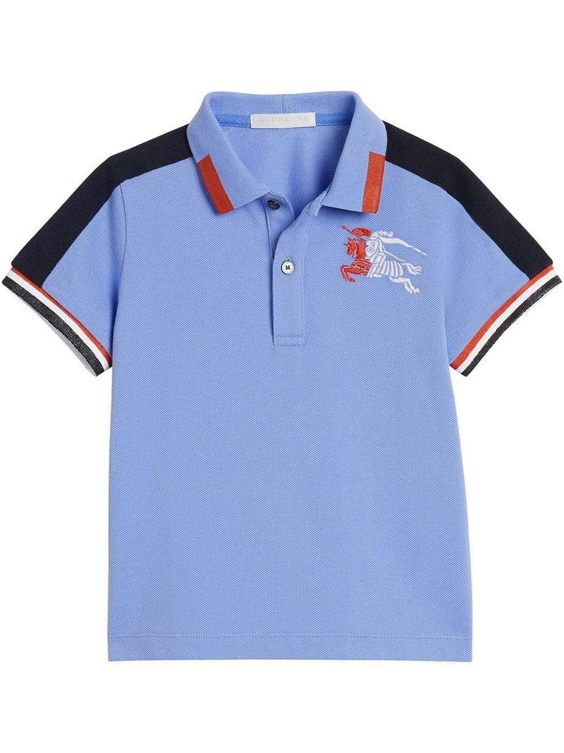 Burberry KB5 Eric Polo Shirt for Boys, Blue