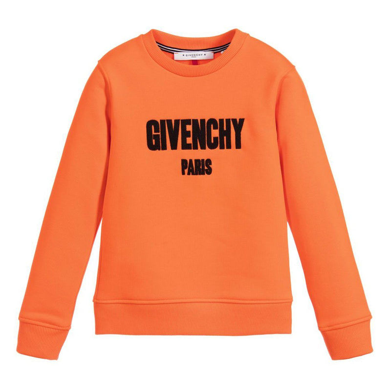 Givenchy Sweatshirt For Boys, Orange