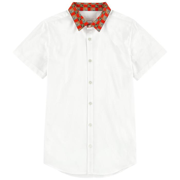 Burberry TB5 Dean Shirt for Boys, White