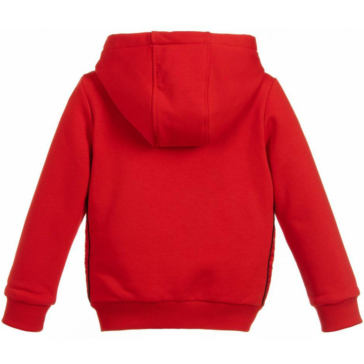 Givenchy Hooded Cardigan For Girls, Red