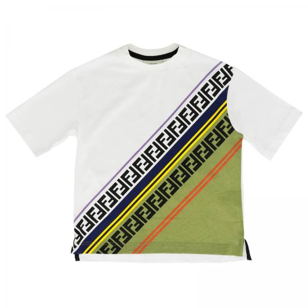 Fendi Boy Jersey Ff T-Shirt for Boys