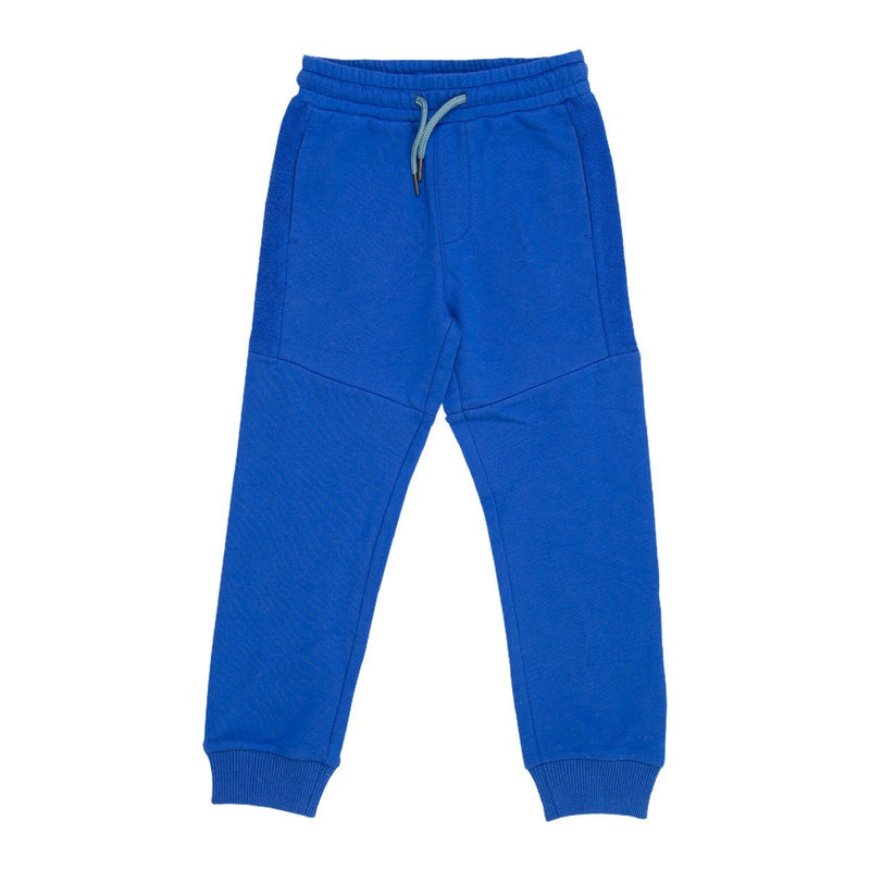 Angels Luxury Kidswear Sweat Pant With Side Panel For Boys, Blue
