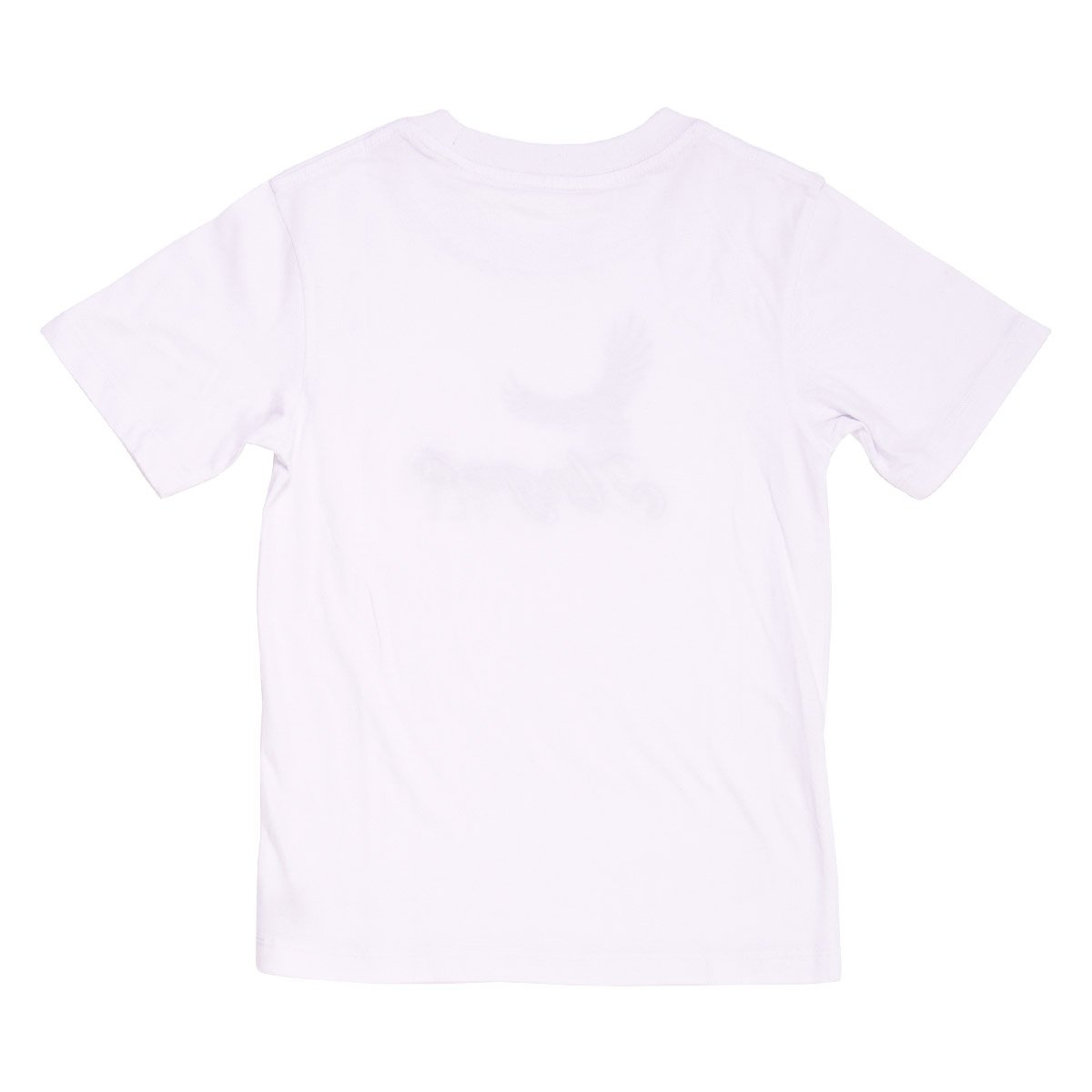 Angels Luxury Kidswear Round Neck Graphic T-Shirt - Angels Fly, White