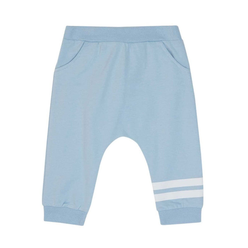 Fendi - Light Fleece Trousers For Boys, Light Blue