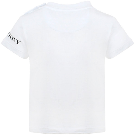 Burberry IB5 Leslie T-Shirt for Boys, White