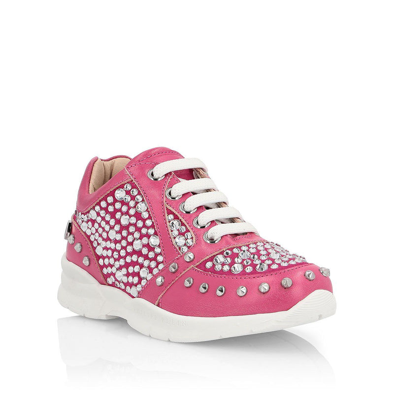 "Philipp Plein - Runner ""Love Them"" Sneaker For Girls, Fuschia"