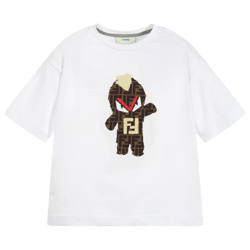 Fendi Boy Jersey T-Shirt for Boys