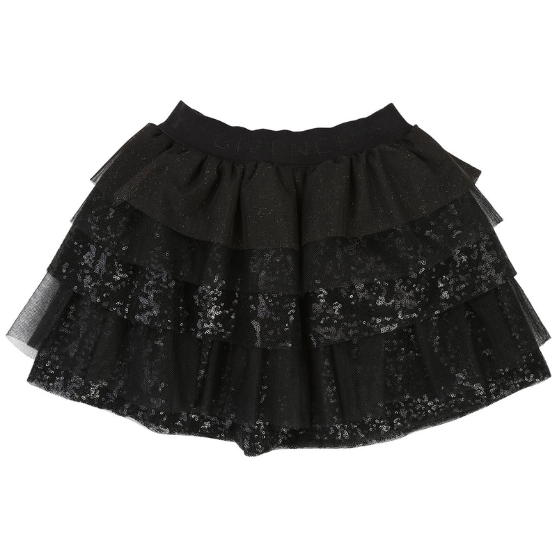 Givenchy Ruffles skirt in plain tulle for Girls