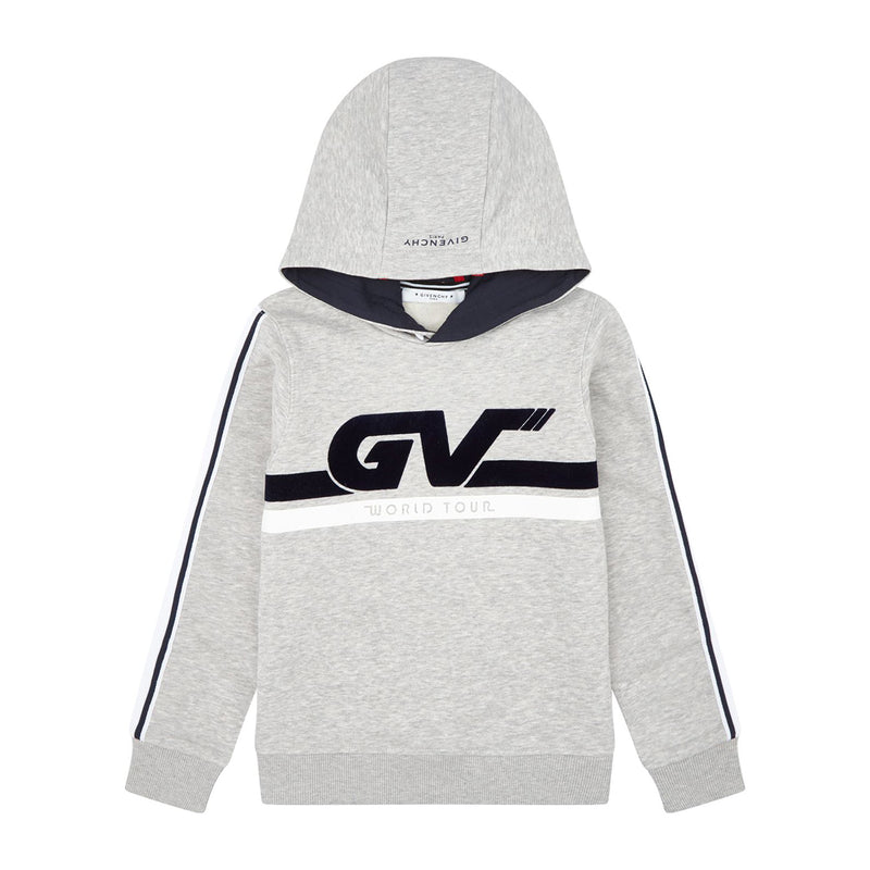 Givenchy Hooded sweater with no brushed fleece for Boys