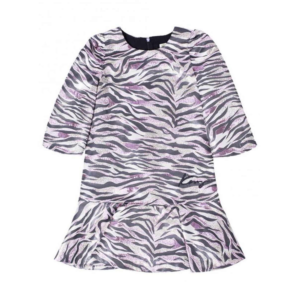 Kenzo - Dress With Tiger pattern, Pink