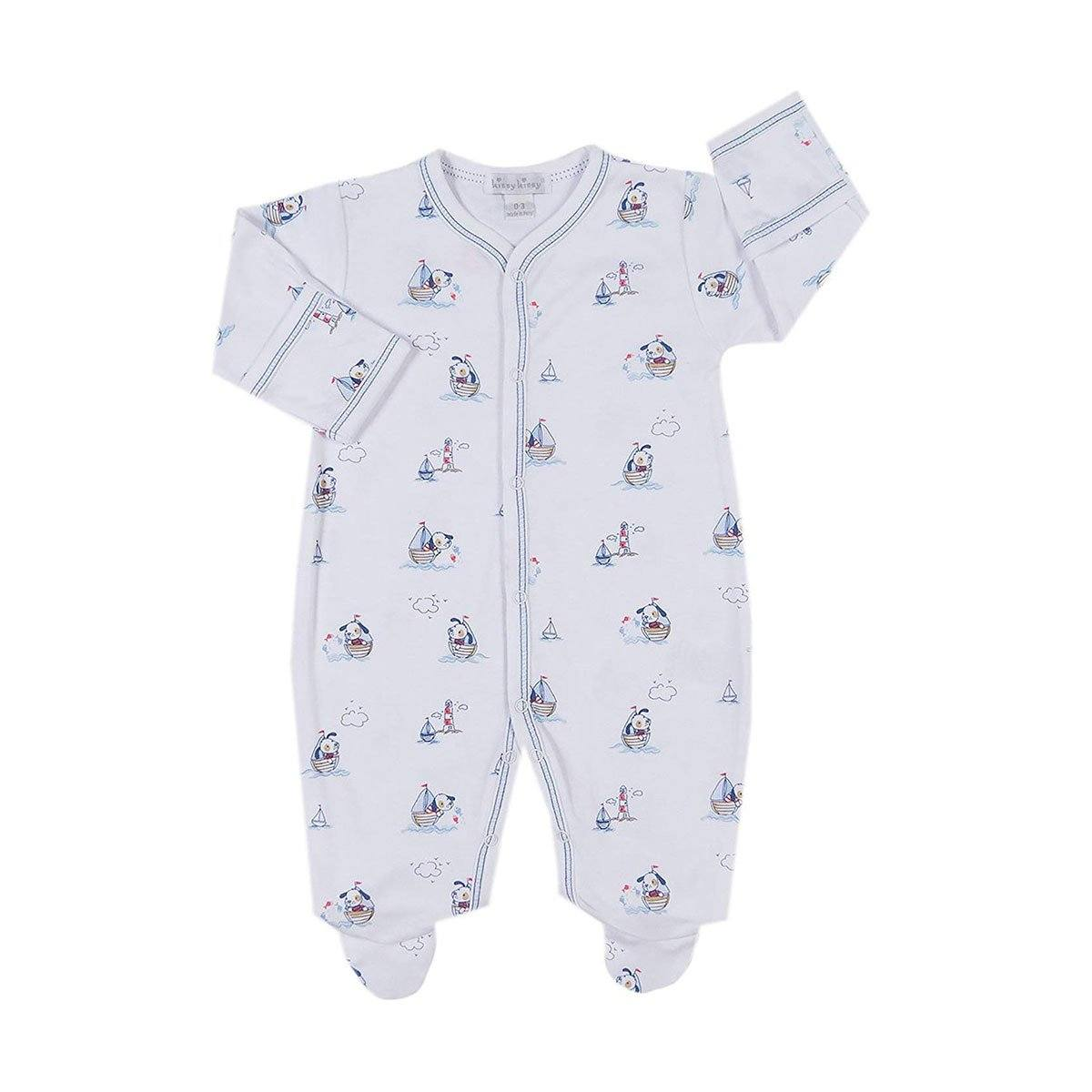 30cf9b1b79c8 Kissy Kissy - Harbor Master Print Onesie For Boys