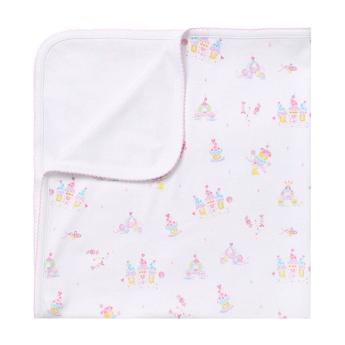 Kissy Kissy - Candy Castles Print Blanket For Girls, Multicolor