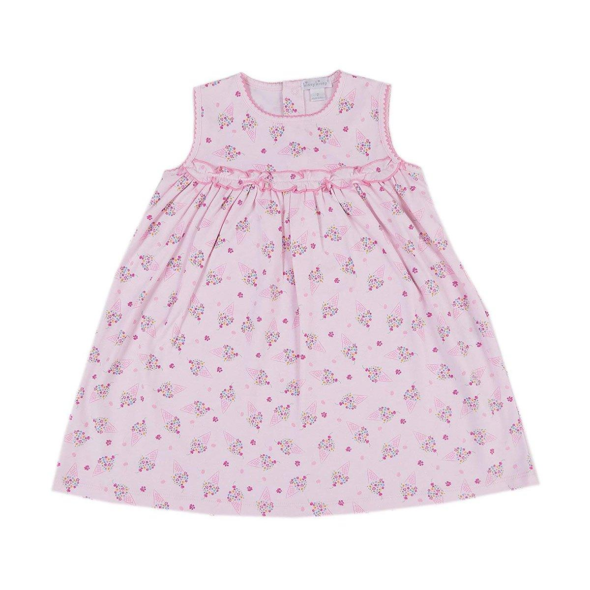 Kissy Kissy - Cherry On Top Print Sleeveless Dress For Girls, Pink