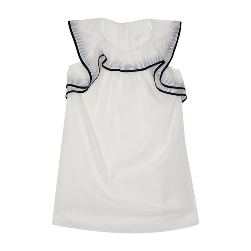 Chloe - Dress For Girls, Offwhite