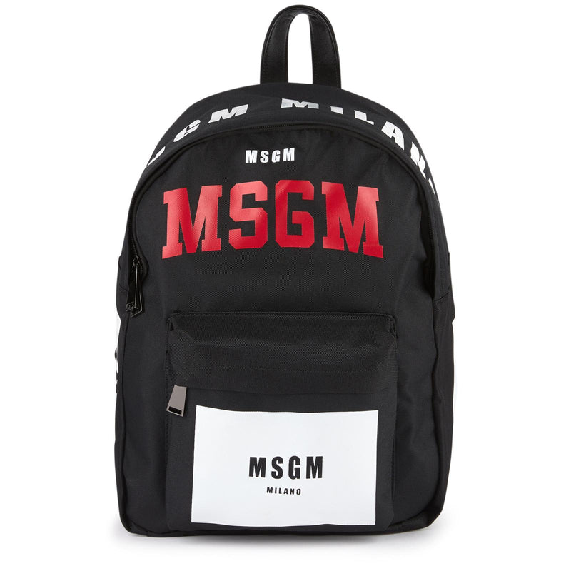 MSGM Backpack Unisex, Black