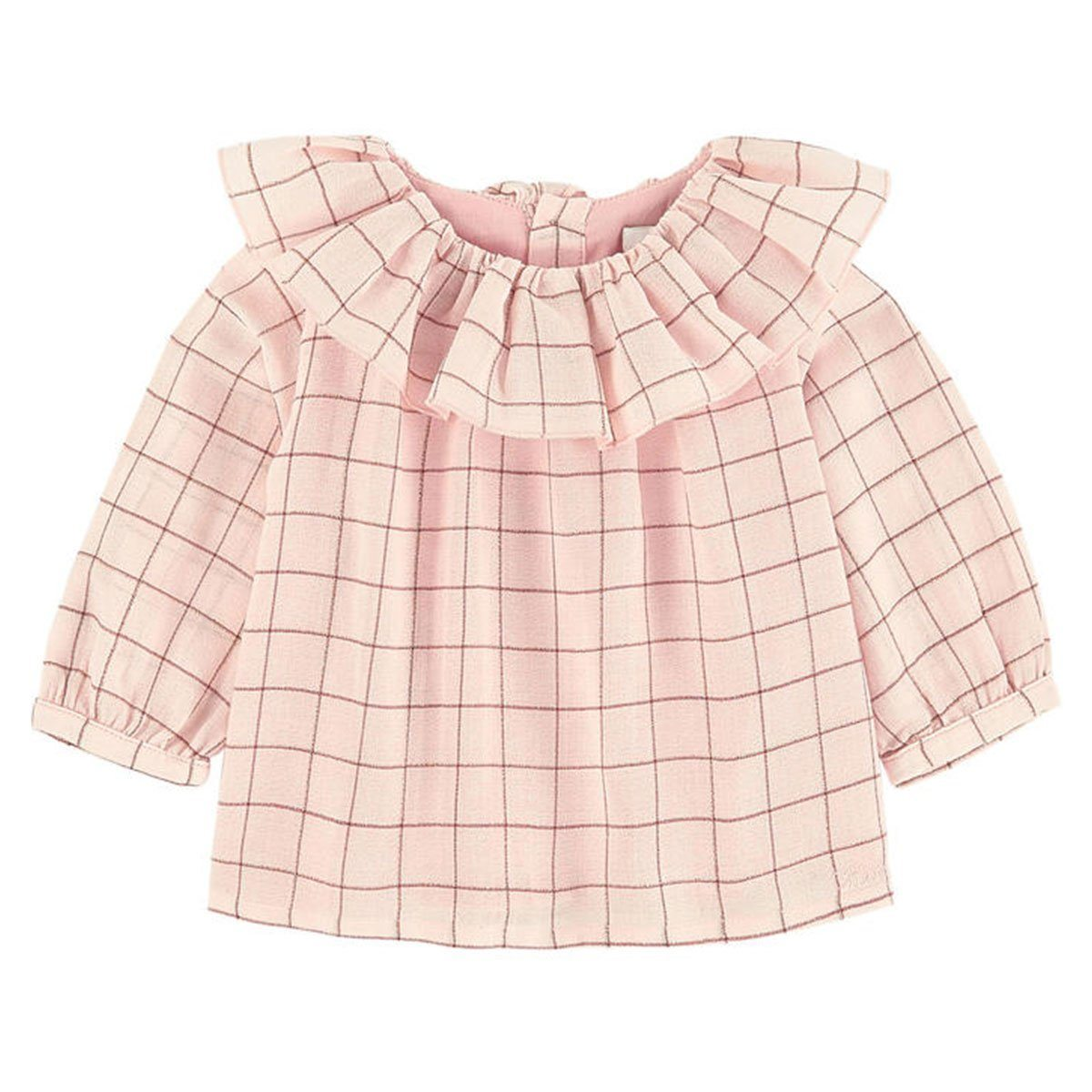 Chloe - Blouse/Shirt For Girls, Light Beige