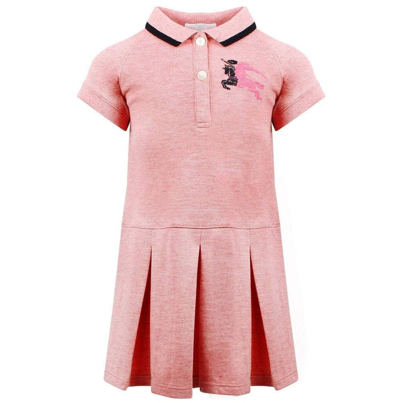 Burberry IG2 Mini Mollyanna Dress For Girls/Babies, Light Pink