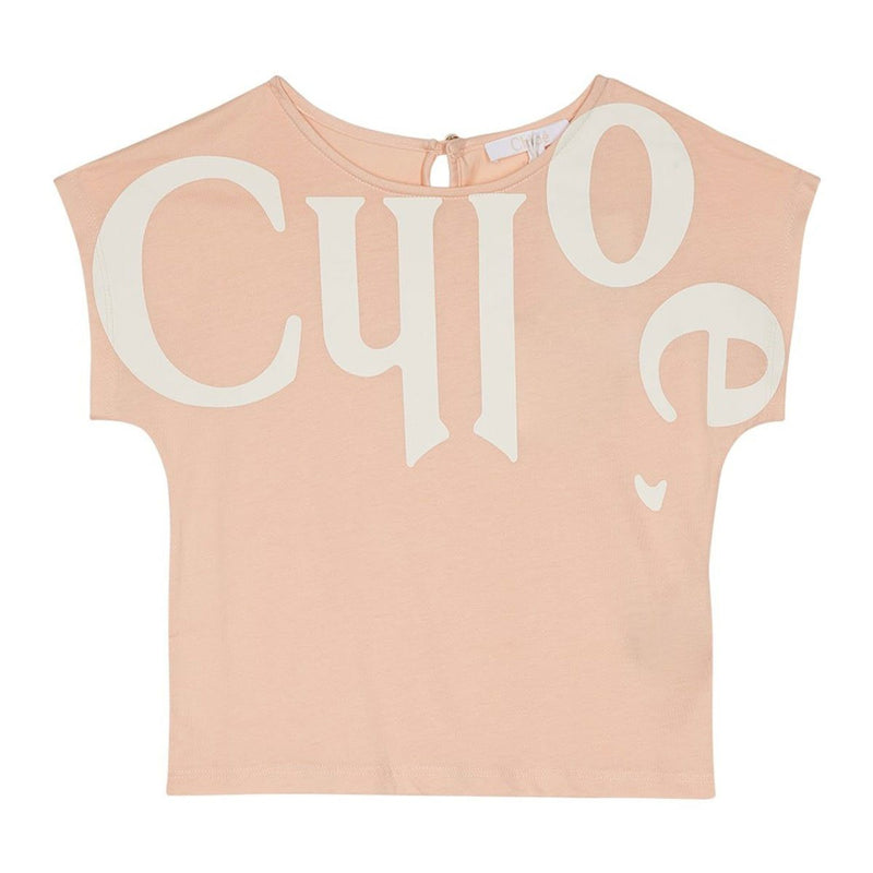 Chloe - T-Shirt For Girls, Peach