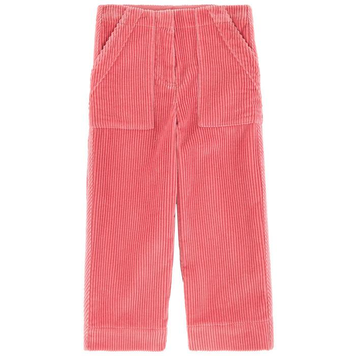 Burberry KG4 Nicey Trousers For Girls, Dark Pink