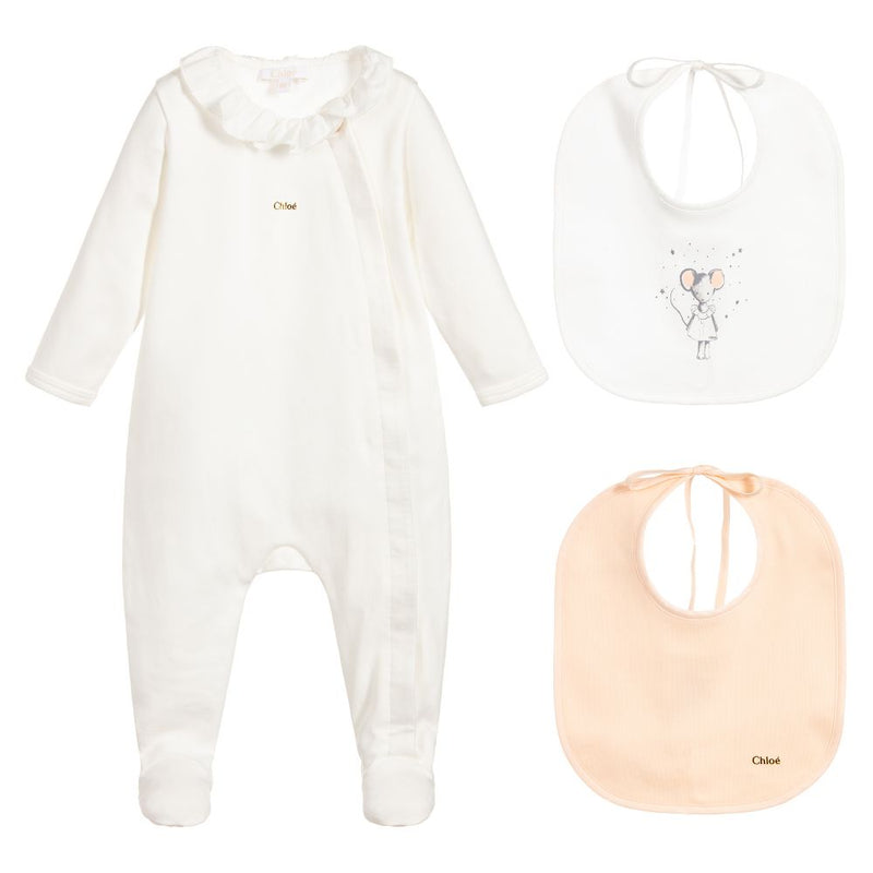 Chloe Gift set with pyjamas and hat for Girls