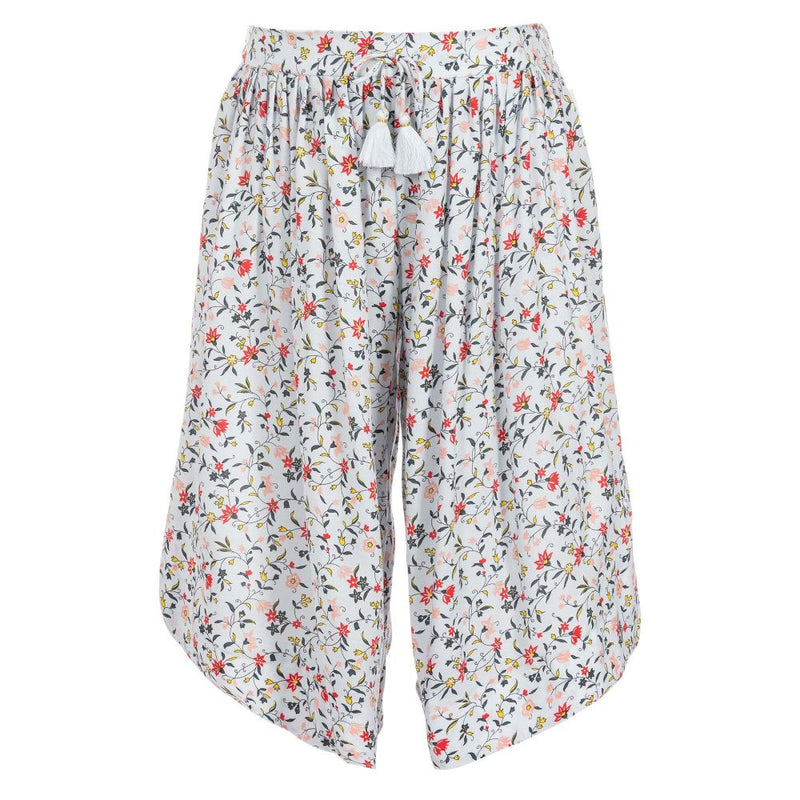Chloe Trousers in viscose crepe for Girls