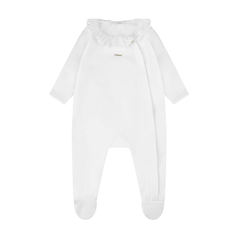 Chloe - Pajamas For Baby Girls, Off White