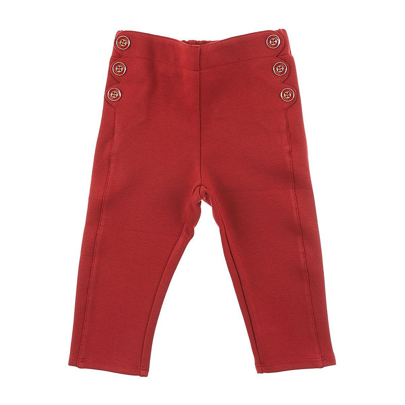 Chloe - Trousers For Girls, Dark Red