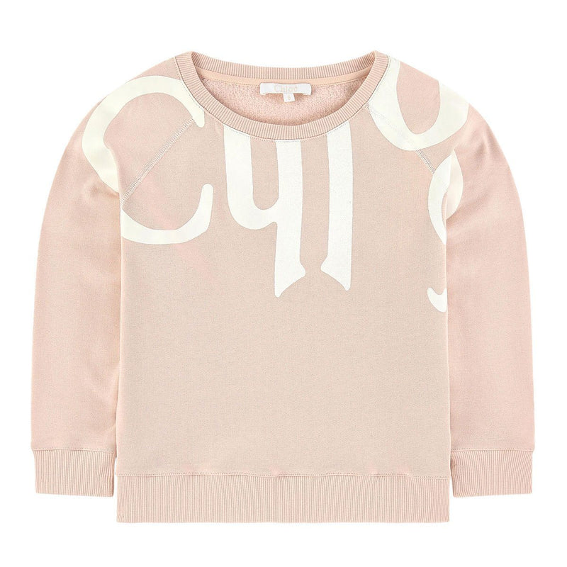 Chloe - Sweatshirt For Girls, Peach