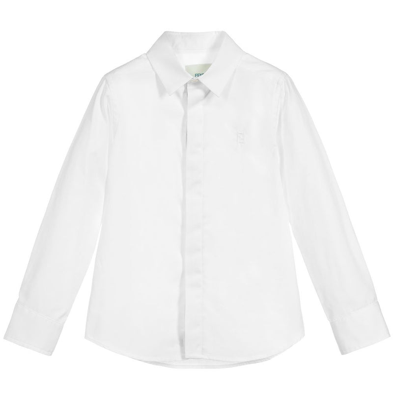 Fendi Boy Cotton Shirt for Boys
