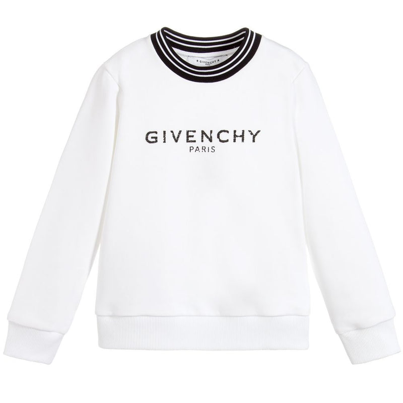 Givenchy No brushed fleece sweater for Girls