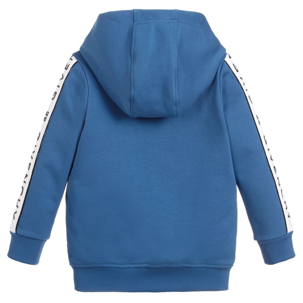 Givenchy Hooded cardigan in no brushed fleece for Boys