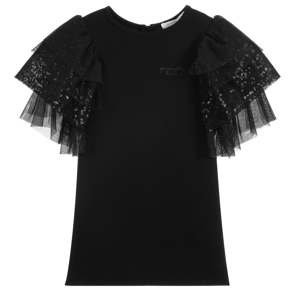 Givenchy Milano tee-shirt sleeves with ruffles for Girls