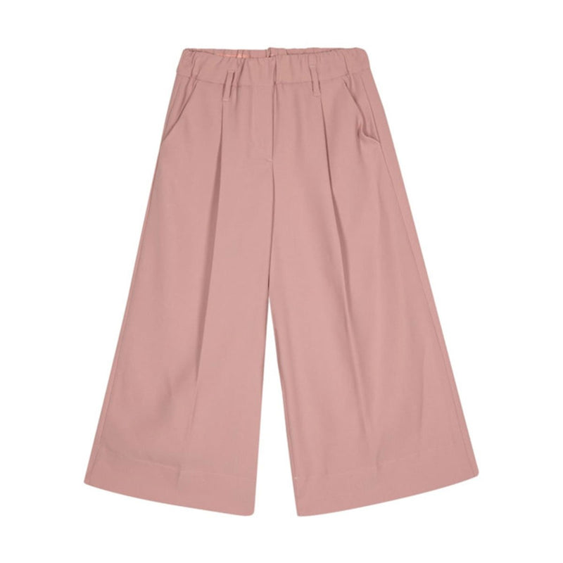 Fendi - Cady Trousers For Girls, Old Pink
