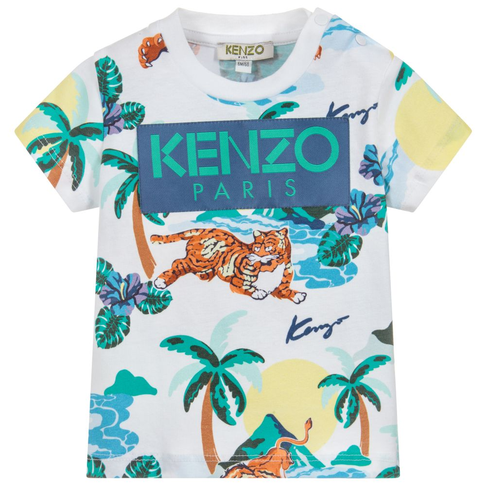 82a8f906 Kenzo Tee-Shirt for Baby Boys – Angels
