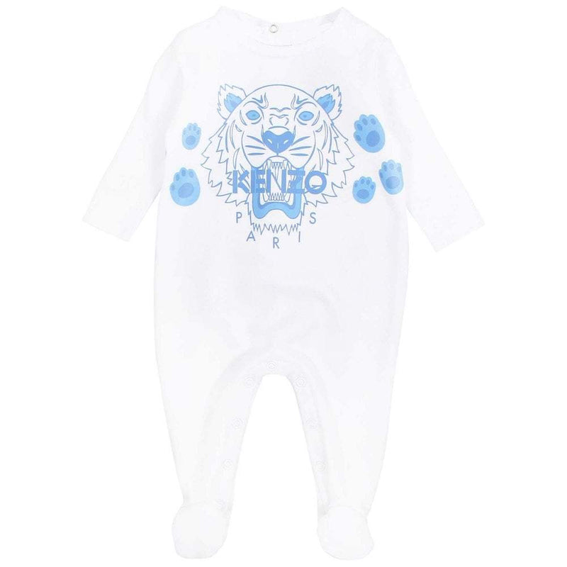 Kenzo Playwear Tiger For Boys/Babies, White