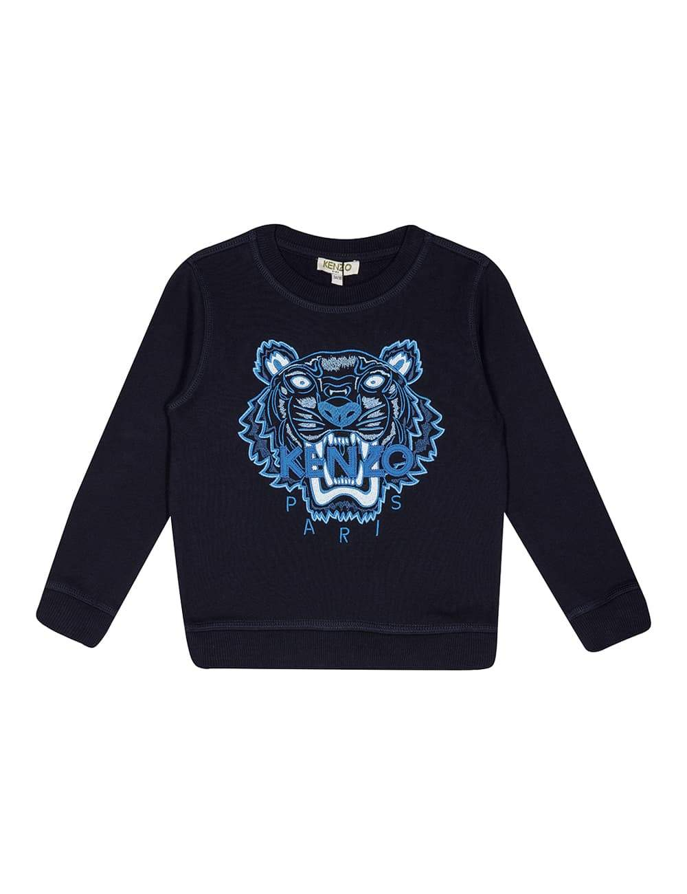 Kenzo - Edwin Sweatshirt Tiger JB Per2 For Boys, Navy