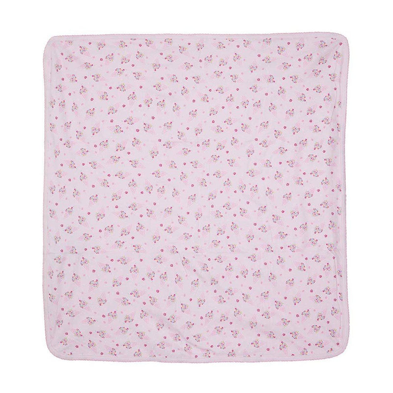 Kissy Kissy - Cherry On Top Print Blanket For Girls, Pink