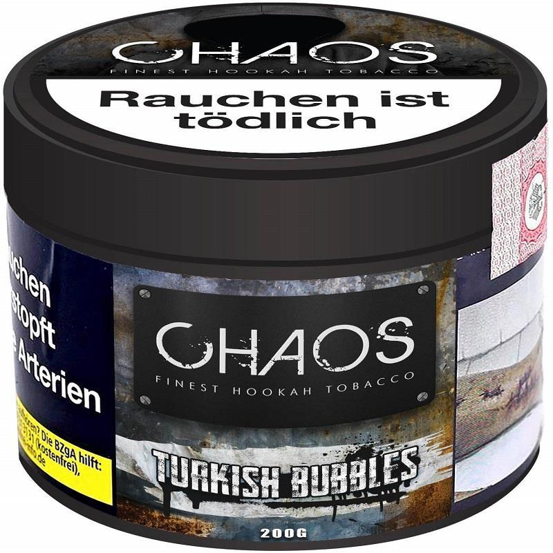 Chaos Tobacco - Turkish Bubbles - 200g