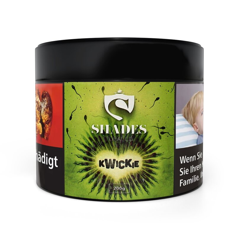 Shades Tobacco 200g - kwickie