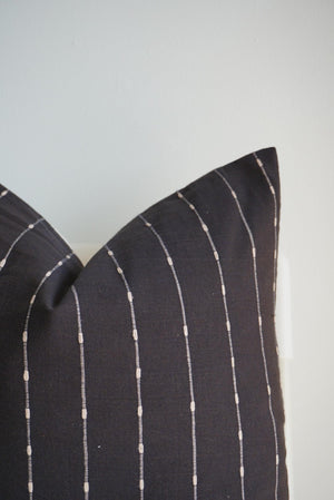 Striped Woven Pillow Cover - 20x20