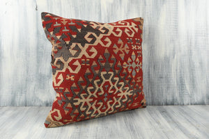 Turkish Kilim Pillow Cover - 20x20