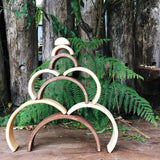 Natural Arc Stacker - Large - Woodynationkids