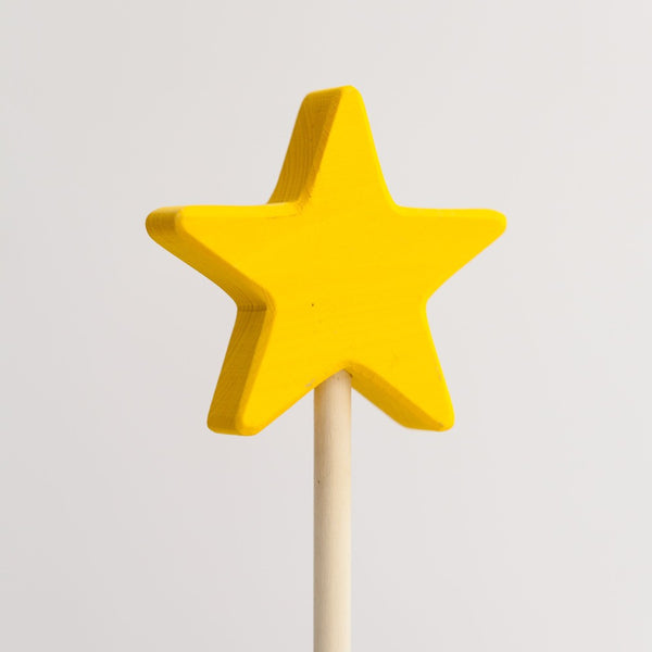 Magic Wand Star - Yellow - Woodynationkids