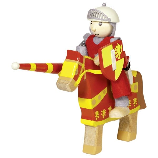 Knight Artus - Flexible Puppet - Woodynationkids