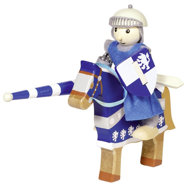 Knight Lancelod - Flexible Puppet - Woodynationkids