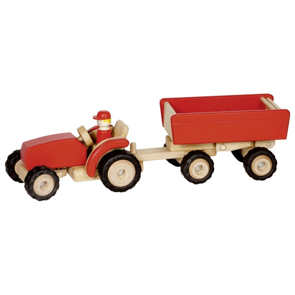 Tractor with Trailer - Woodynationkids