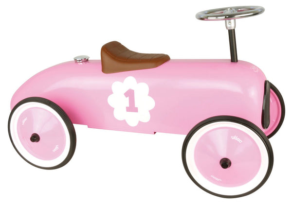 Pink Vintage metal Car - Woodynationkids