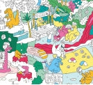 Giant Colouring Poster- Dinos - Woodynationkids